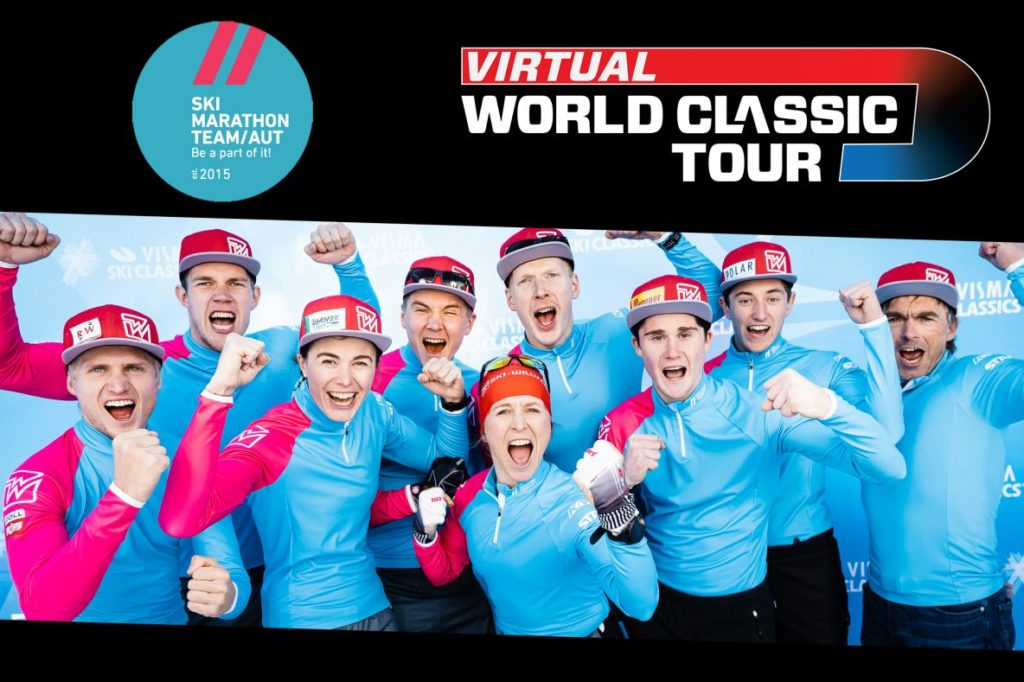 Skimarathon Team Austria, Virtual World Classic Tour, rollerski, ski-roues