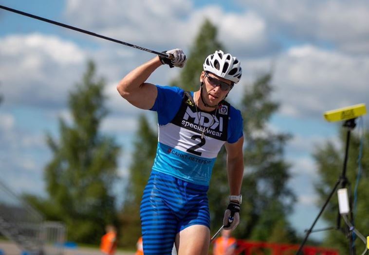 Andrey Krasnov, rollerski, ski-roues, championnats de Russie