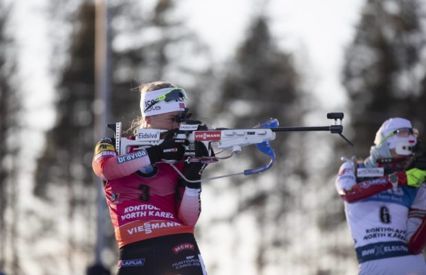 Tiril Eckhoff, Kontiolahti, biathlon