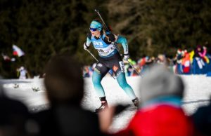 Anais Bescond, biathlon, Antholz