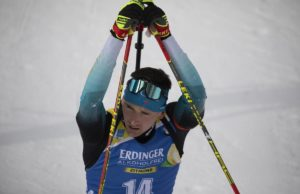 Fabien Claude, Antholz, biathlon