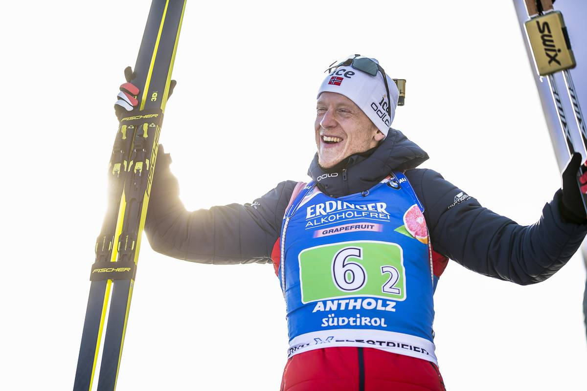 Biathlon, Johannes Thingnes Boe, Antholz