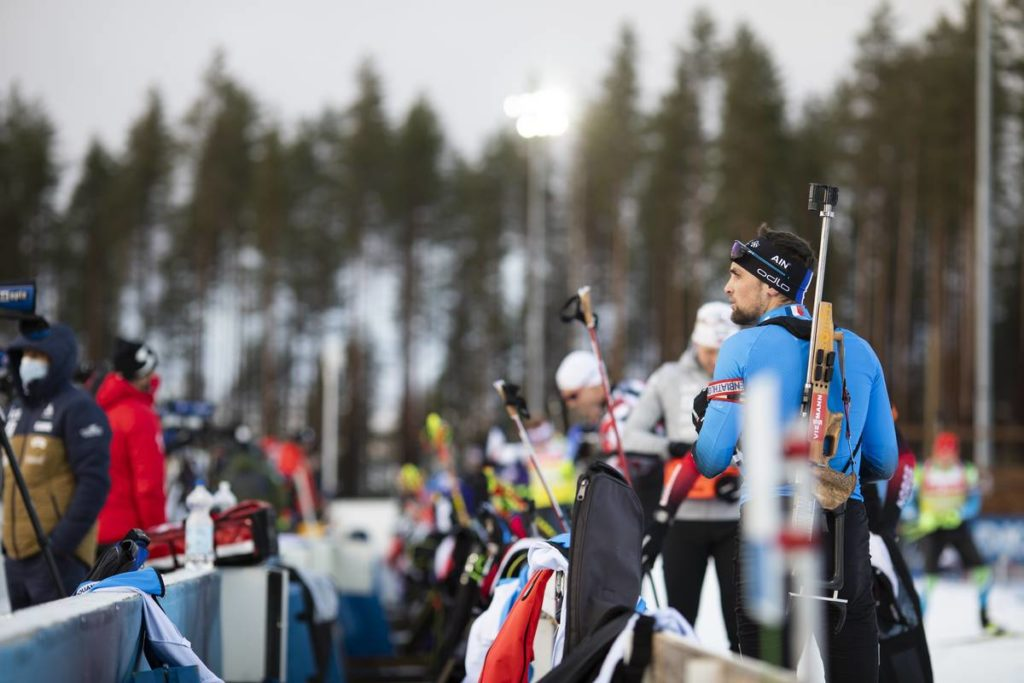 biathlon, coupe du monde, Kontiolahti, Simon Desthieux