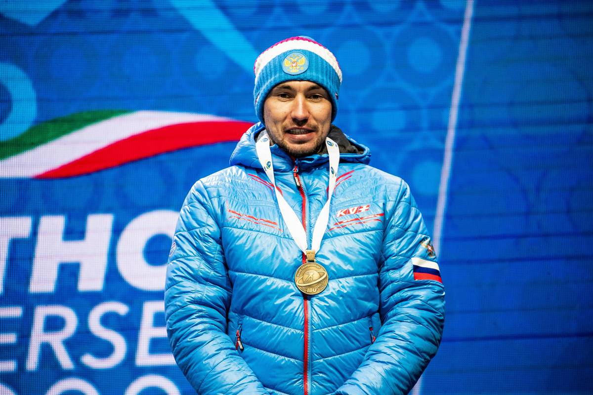 Alexander Loginov, biathlon, Antholz