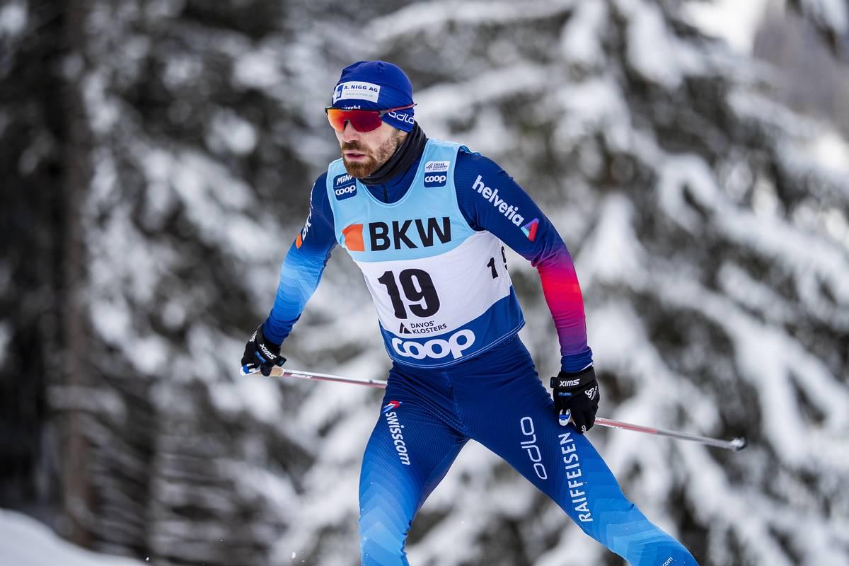 Dajan Danuser, ski de fond, Davos