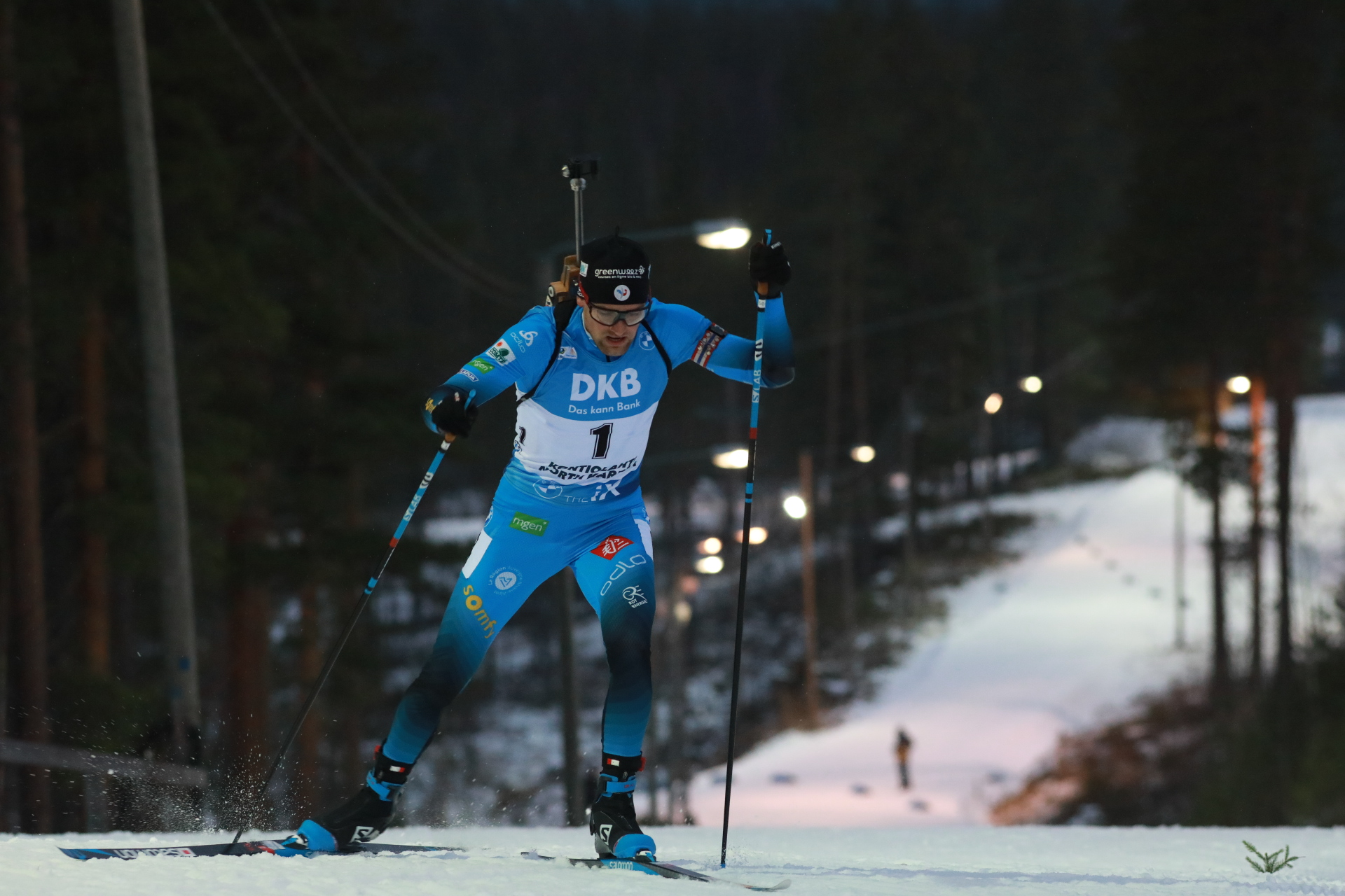 Simon Desthieux, biathlon, Kontiolahti
