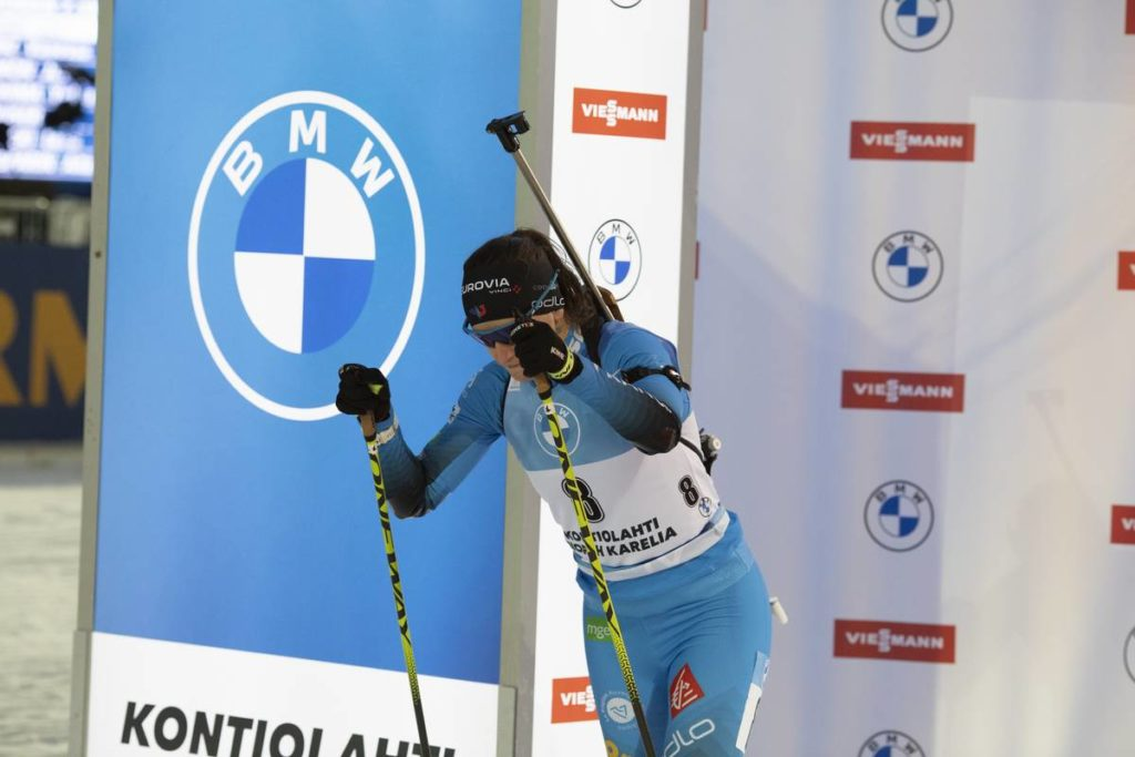 Julia Simon, biathlon, Kontiolahti