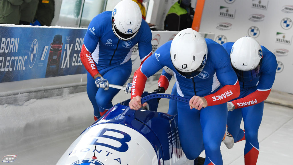 Romain Heinrich, bobsleigh