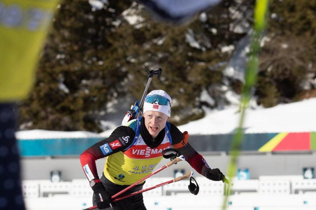 Johannes Thingnes Boe, biathlon, Antholz