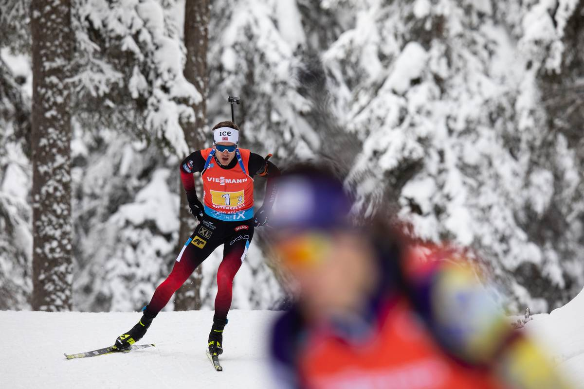 Tarjei Boe, biathlon, Antholz
