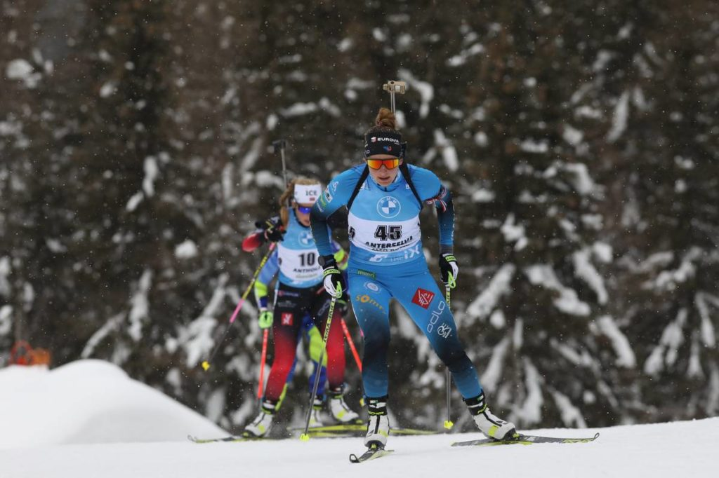 Justine Braisaz, biathlon, Antholz