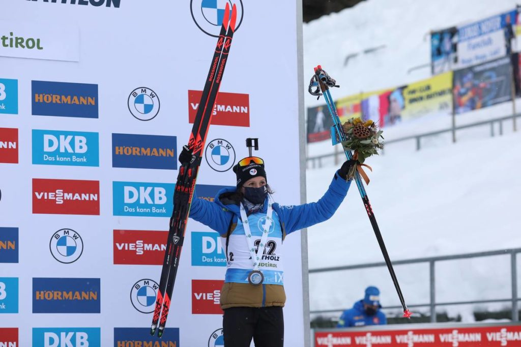 Anaïs Chevalier, biathlon, Antholz