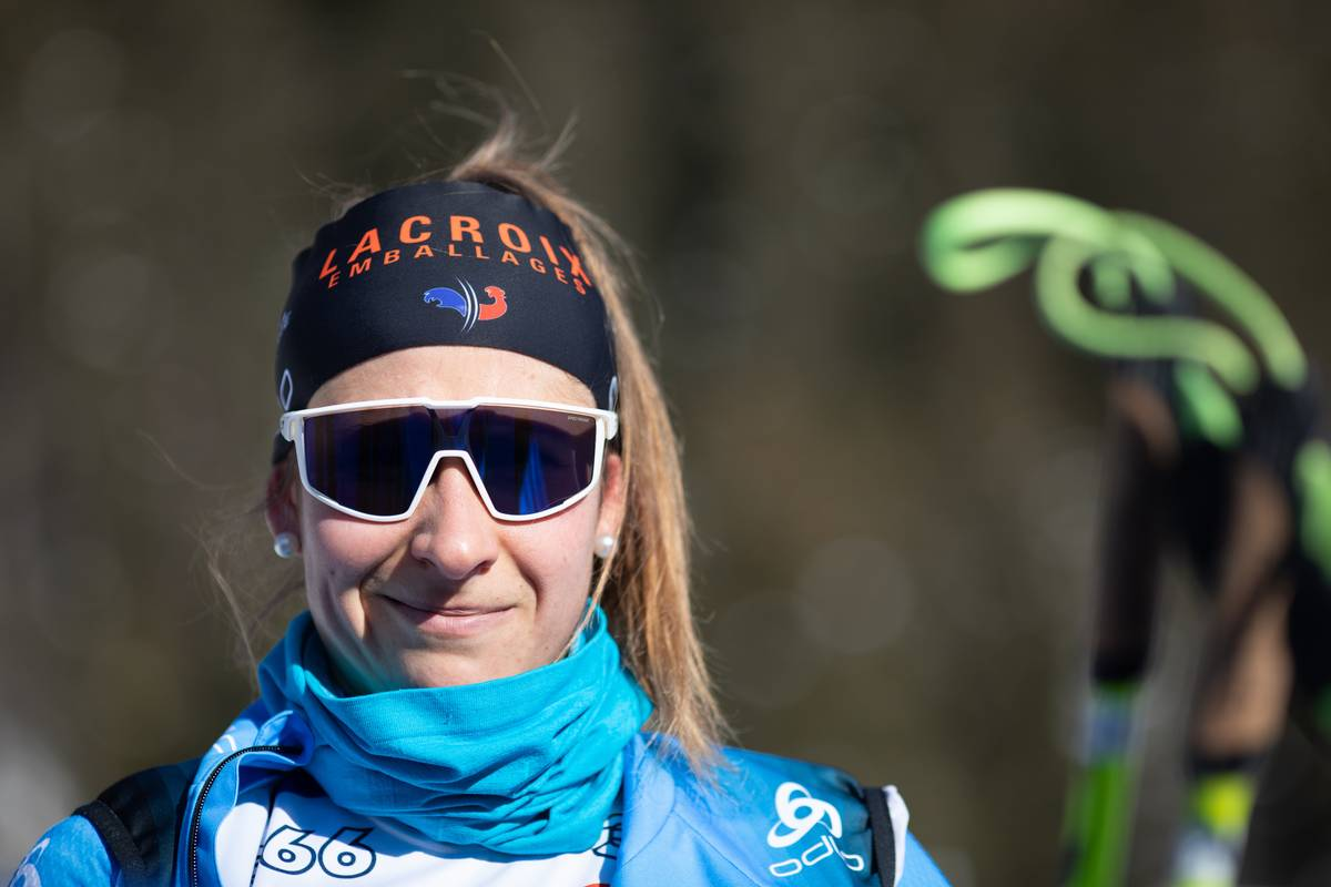Caroline Colombo, biathlon, Antholz