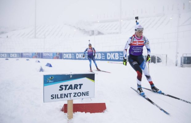 La France de Simon et Jacquelin remporte le relais mixte simple — Oberhof