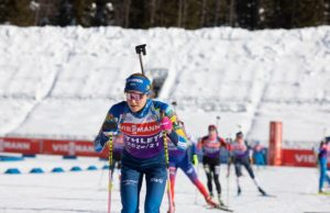 Tilda Johansson, biathlon, Antholz