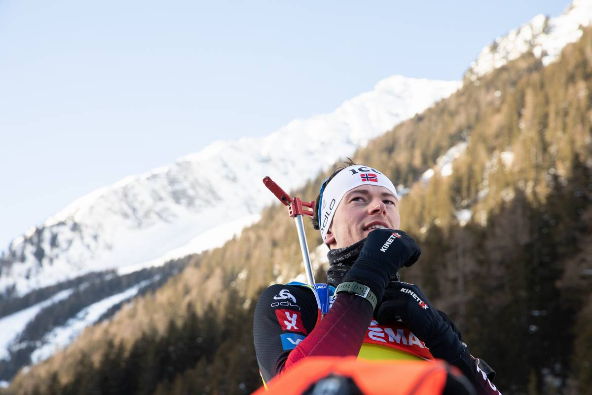 Sturla Holm Laegreid, biathlon, Antholz