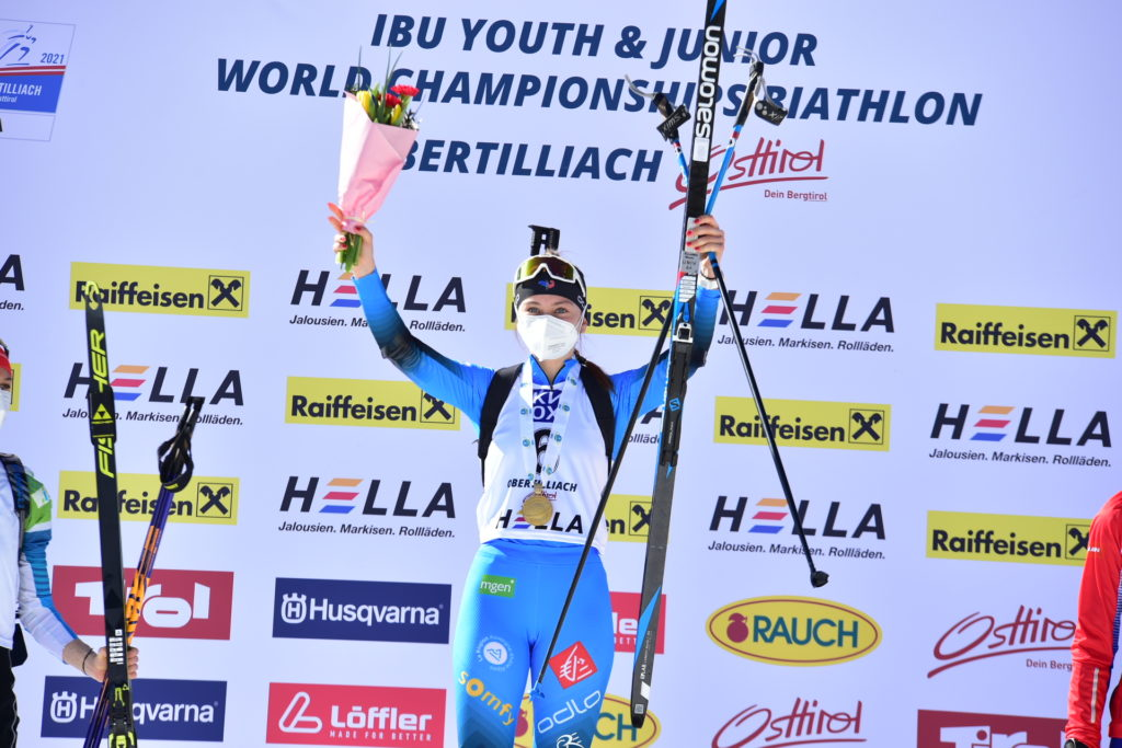 Jeanne Richard, biathlon, Obertilliach