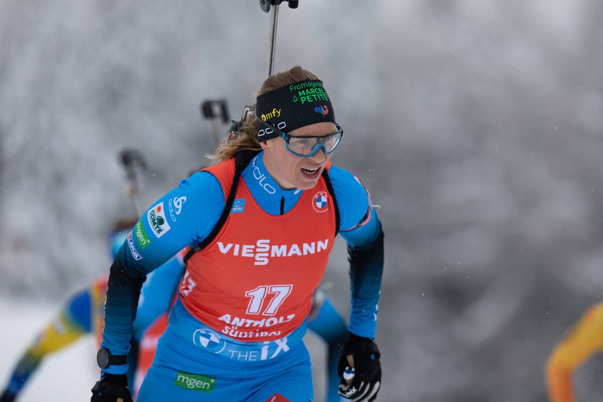 Anaïs Bescond, biathlon, Antholz