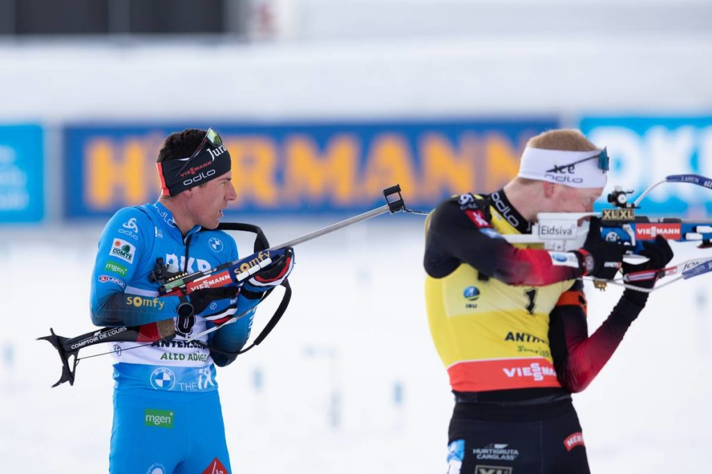 Johannes Thingnes Boe, Quentin Fillon-Maillet, biathlon, Antholz