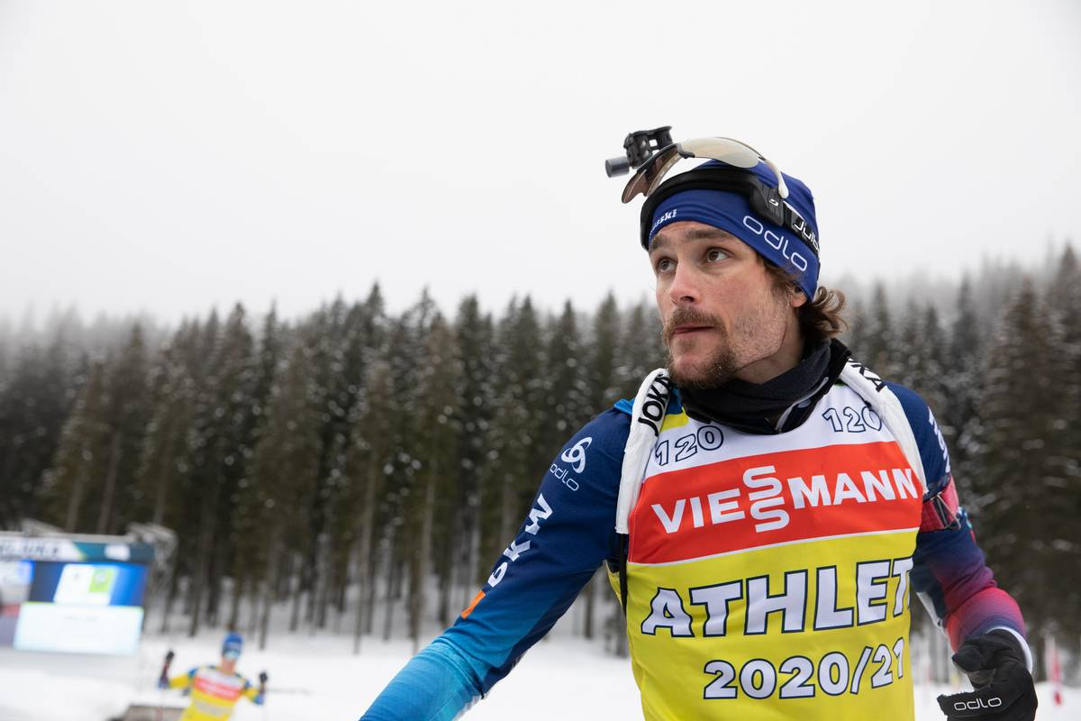 Jeremy Finello, biathlon, Pokljuka