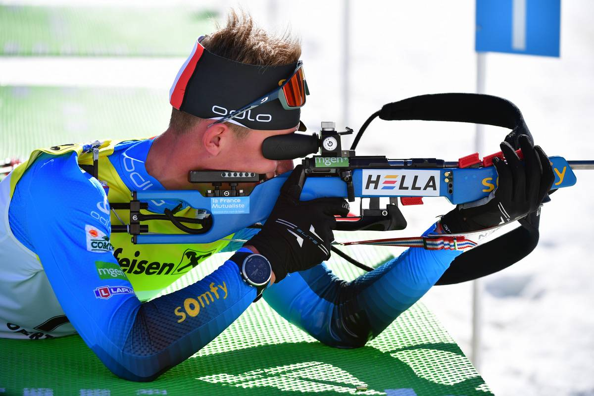 Edgar Geny, biathlon, Obertilliach