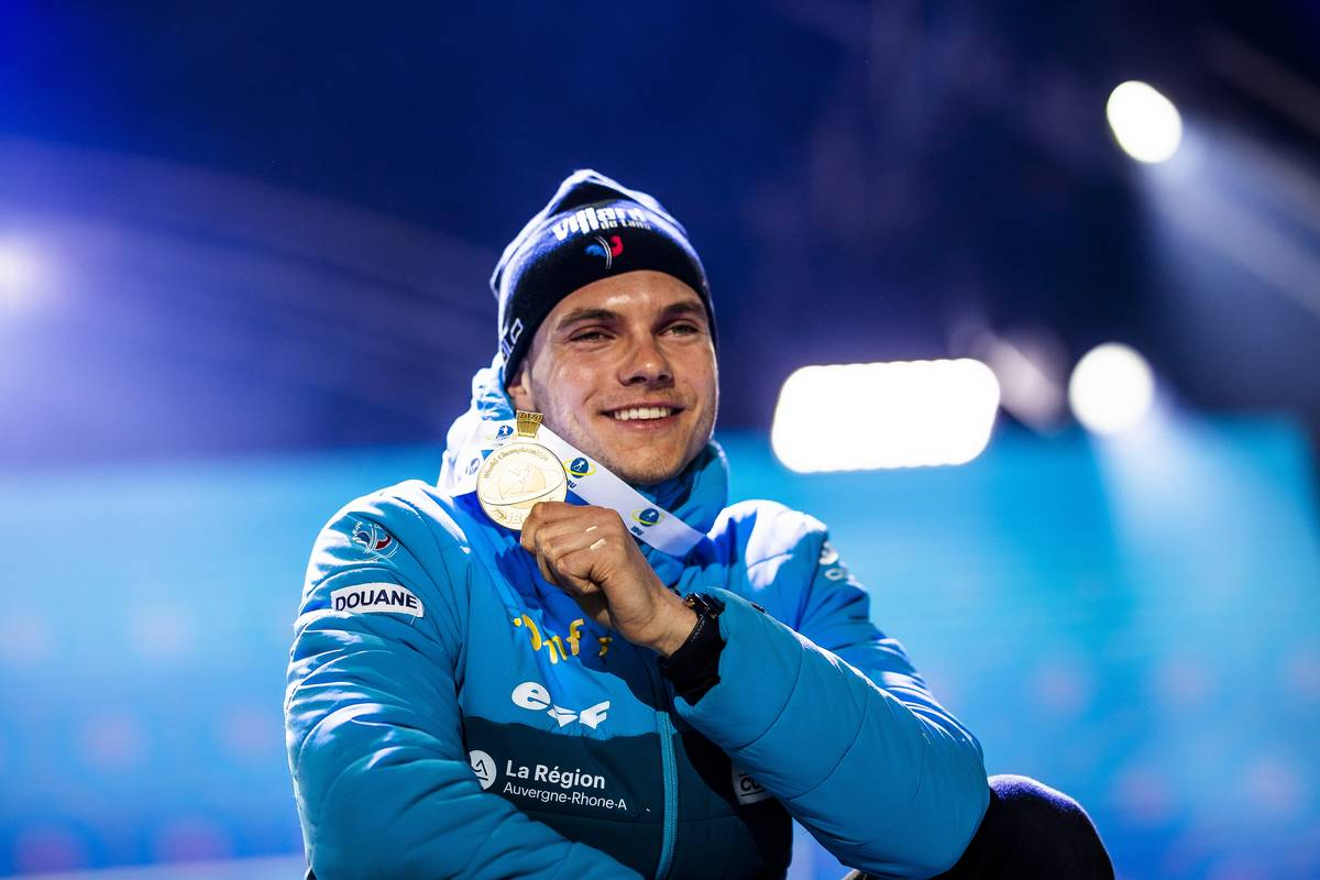 Emilien Jacquelin, biathlon, Antholz