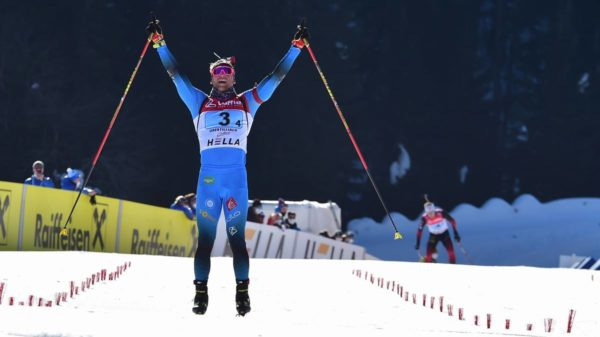 Emilien Claude, biathlon, Obertilliach