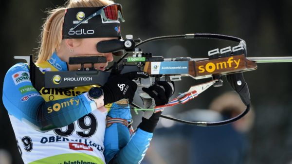 Sophie Chauveau, biathlon, Obertilliach
