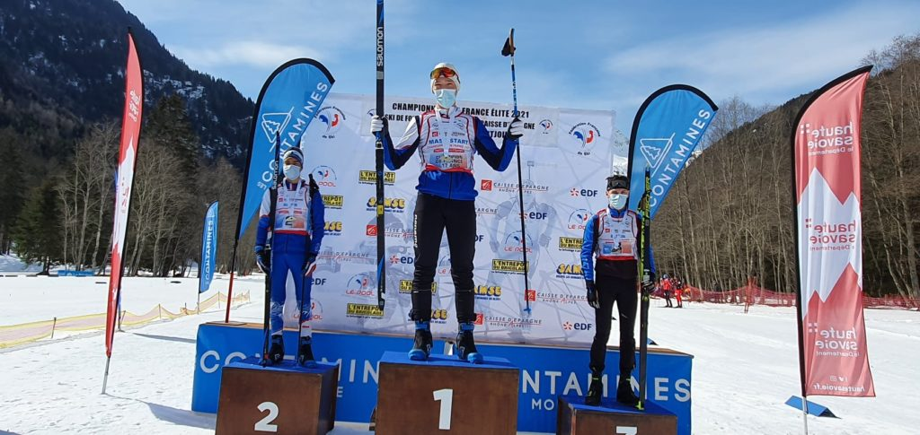 Julien Michel, Alexis Colomban, Martin Botet, biathlon, Les Contamines