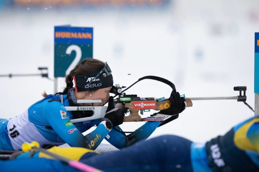 Chloe Chevalier, biathlon, Antholz