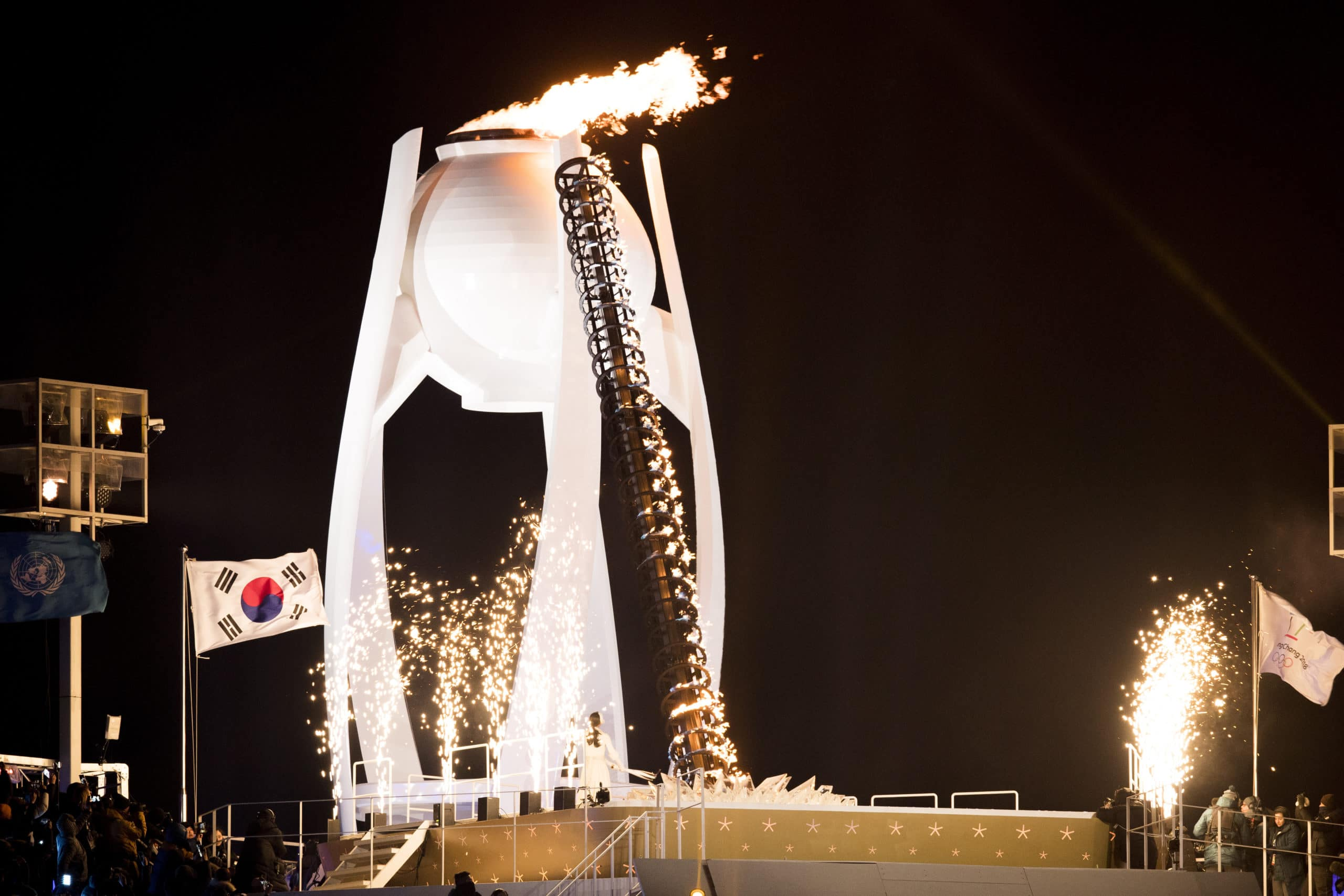 flamme olympique, vasque olympique, PyeongChang 2018, Jeux olympiques, Nordic Mag, nordicmag