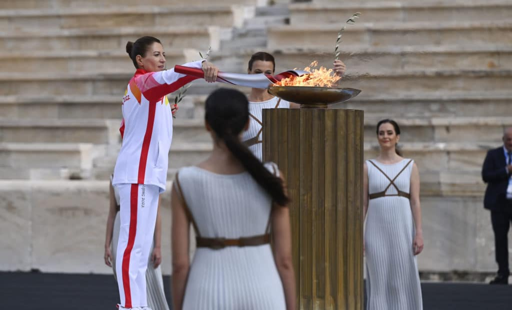 Beijing 2022: the Olympic flame has reached China    Nordic Mag    N ° 1 Biathlon